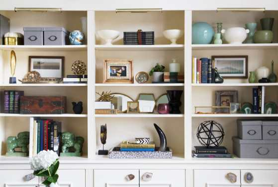 EM Interiors Glenview Home Office